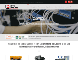iclogistix.co.za screenshot