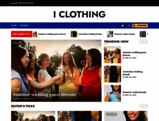 iclothing.com.au screenshot