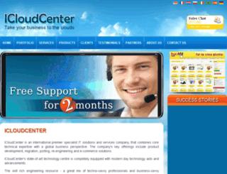 icloudcenter.com screenshot