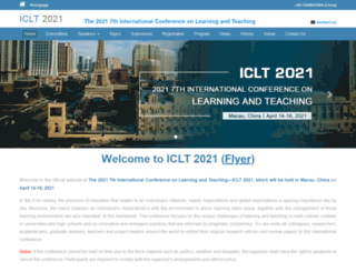 iclt.org screenshot
