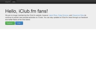 iclub.fm screenshot