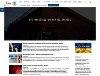 icm.edu.pl screenshot