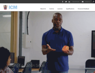 icm.education screenshot