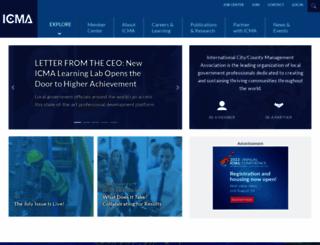 icma.org screenshot