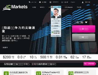 icmarketsecn.com screenshot