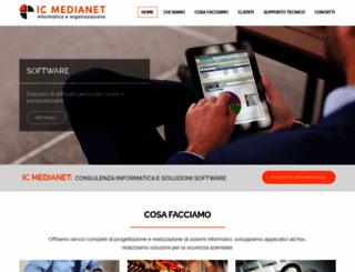 icmedianet.com screenshot