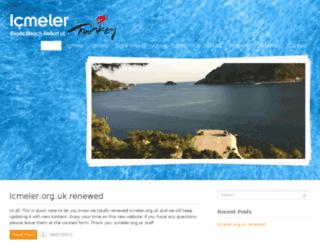 icmeler.org.uk screenshot
