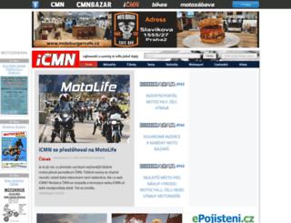 icmn.cz screenshot