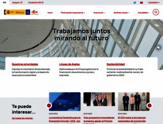 ico.es screenshot