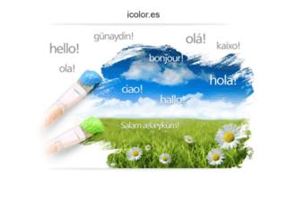 icolor.es screenshot