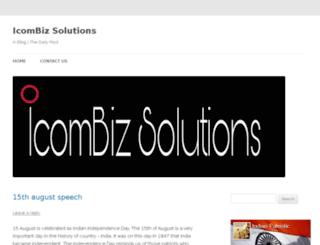 icombizsolutions.com screenshot