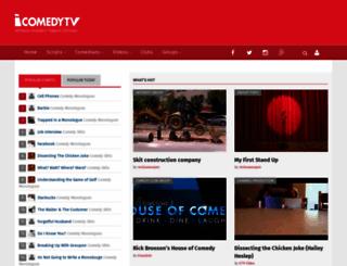 icomedytv.com screenshot
