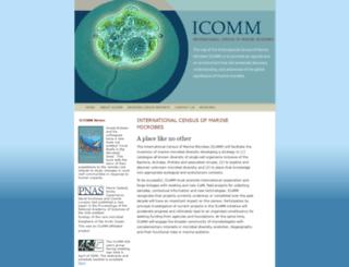 icomm.mbl.edu screenshot