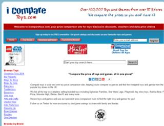 icomparetoys.com screenshot