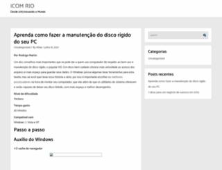 icomrio2013.org.br screenshot
