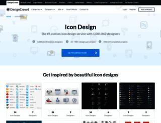 icon.designcrowd.co.in screenshot