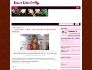 iconcelebrity.blogspot.com screenshot