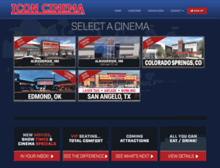 iconcinemas.com screenshot