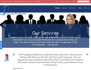 iconicwebteam.com screenshot