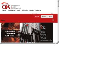 iconiknb.ojk.go.id screenshot