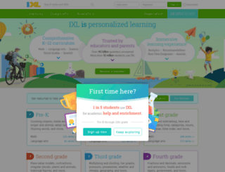 iconline.quia.com screenshot
