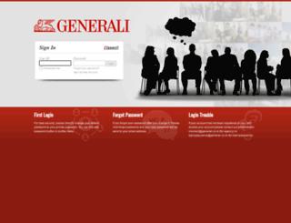 iconnect.generali.co.id screenshot