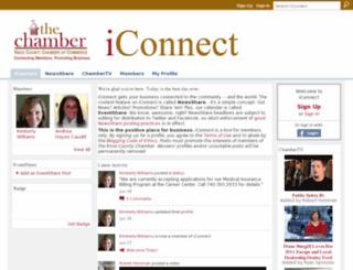 iconnectknoxchamber.ning.com screenshot