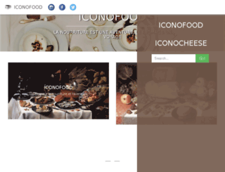 iconofood.com screenshot