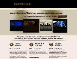 iconosites.com screenshot
