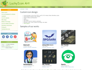 icons-for-technical-writers.luckyicon.com screenshot