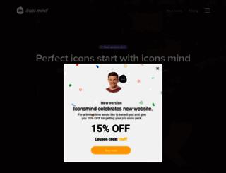 iconsmind.com screenshot
