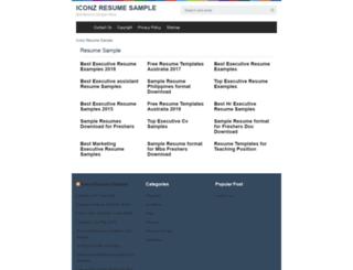iconzmagazine.com screenshot
