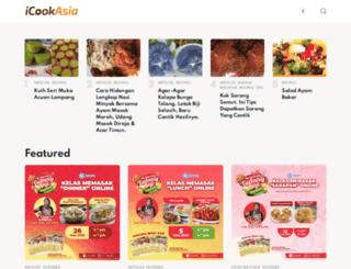 icookasia.com screenshot
