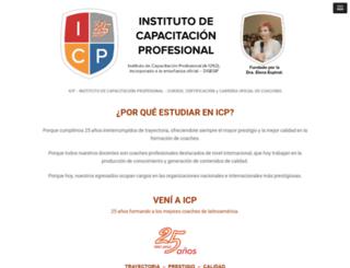 icp.edu.ar screenshot