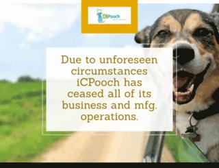 icpooch.com screenshot