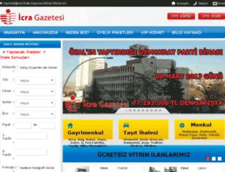 icragazetesi.com screenshot