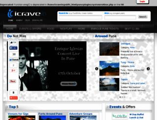 icrave.in screenshot