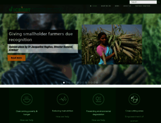 icrisat.org screenshot