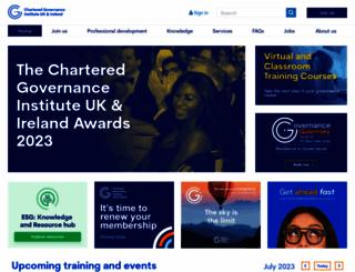 icsa.org.uk screenshot