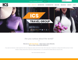 icstravelgroup.com screenshot