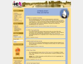 ict-media.de screenshot