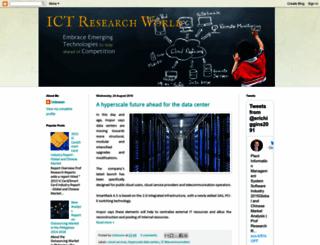 ict-researchworld.blogspot.in screenshot