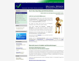 ict-weber.com screenshot