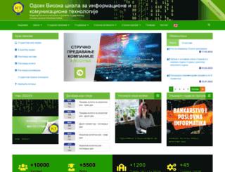 ict.edu.rs screenshot