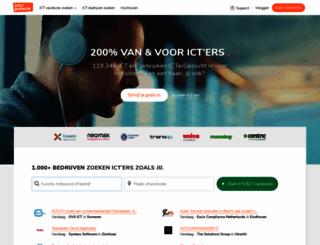 ictergezocht.nl screenshot