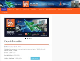 ictexpo.com.bd screenshot