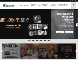 ictickets.com screenshot
