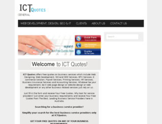 ictquotes.com.au screenshot