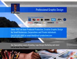 icu2-productions.com screenshot