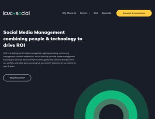 icucmoderation.com screenshot